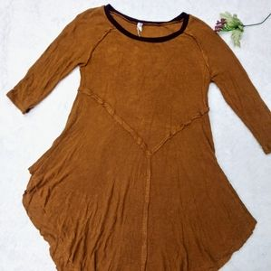 (Intimately FP) burnt orange weekend layered Top